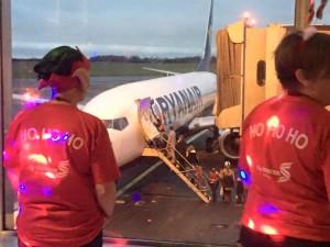 Shannon Santa flight