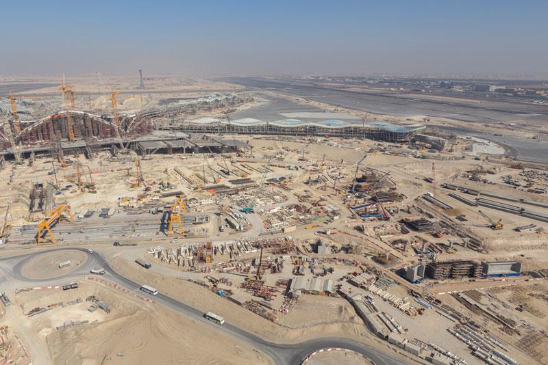 Abu Dhabi International Airport's Midfield Terminal Complex