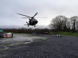 Air Corps supporting farmers
