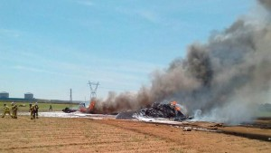 Airbus A400M Atlas military transporter crash site