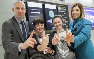 Dublin Airport's 1 Million transfer passenger
