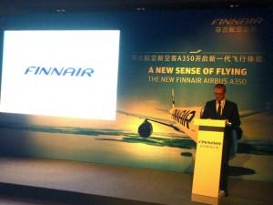 Finnair A350 launch