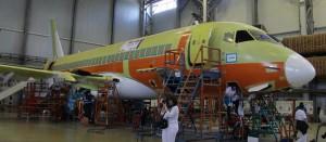 Suchoi Superjet cn 95108 1st CityJet