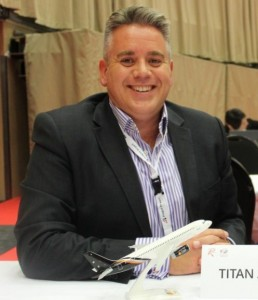 Titan's Commercial Director Alastair Kiernan