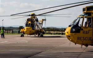 RAF Seaking farewell at Chivnor (RAF)