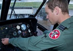 RAF Valley - HRH the Duke of Cambridge