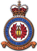 RAF Valley SARTU crest (motto 'That Lives may be saved')