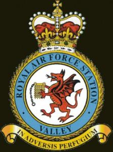 RAF Valley crest (motto 'Refuge in Adversity')