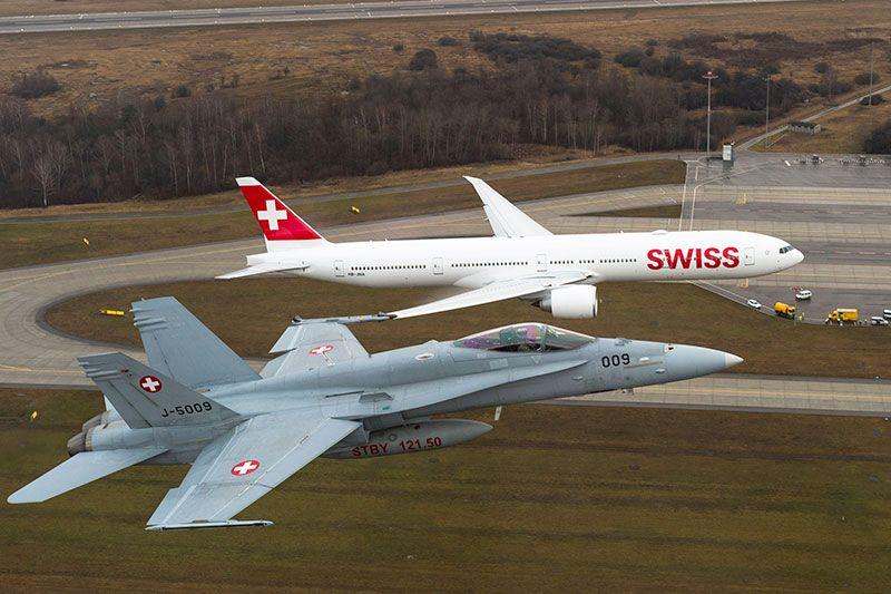Swiss B777 89393