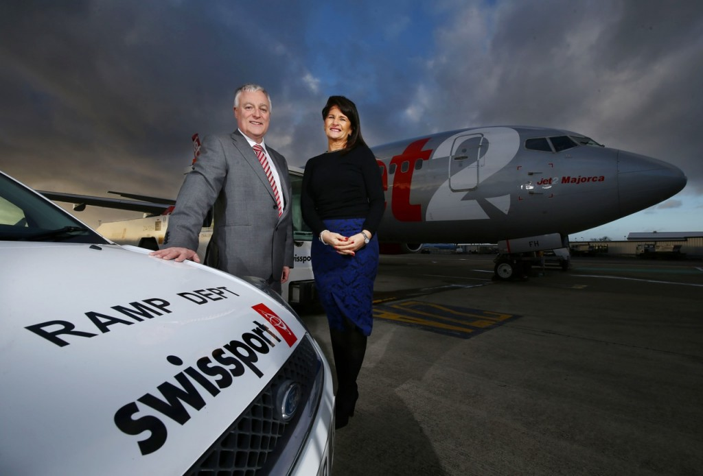 Swissport at Belfast Jean Foster & Alan Whiteside (BIA)