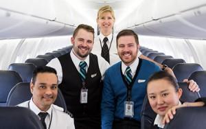 WestJet cabin crew