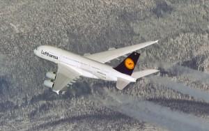 A380 Luftbild, Air-to-Air-Aufnahme