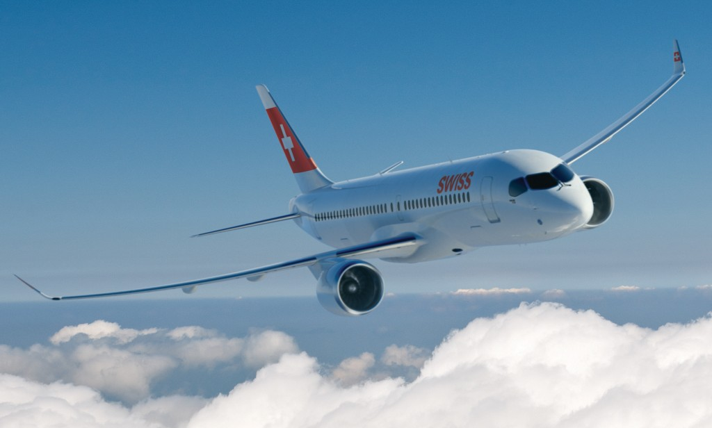 Bombardier CSeries for SWISS