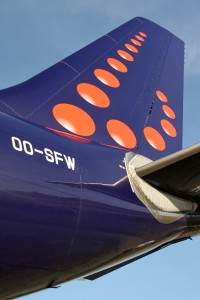Brussels Airlines tail