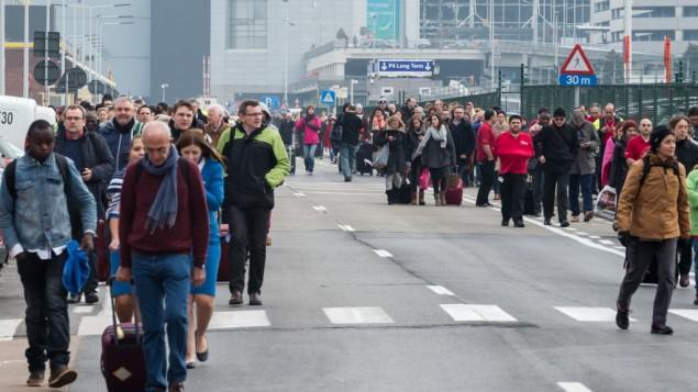 Brussels Airport evacuation