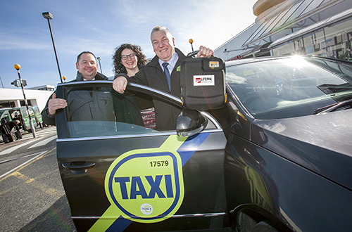 Dublin Airport Taxi Drivers potential life savers
