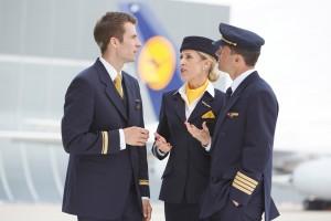 Gesichter der Lufthansa, Gesichter der Welt, Uniformen, Menschen, Kommunikation. Frankfurt, den 2.07.2013