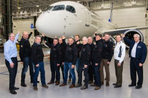 Bombardier CSeries traing for Swiss crews in Canada