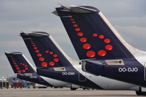 Brussels Airlines Avro tails