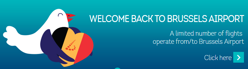Brussels Airlines welcomes airport reopening