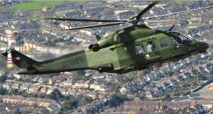 E11-AW139 '275' over Dublin (IDF)