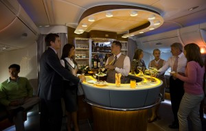 Emirates Onboard Lounge
