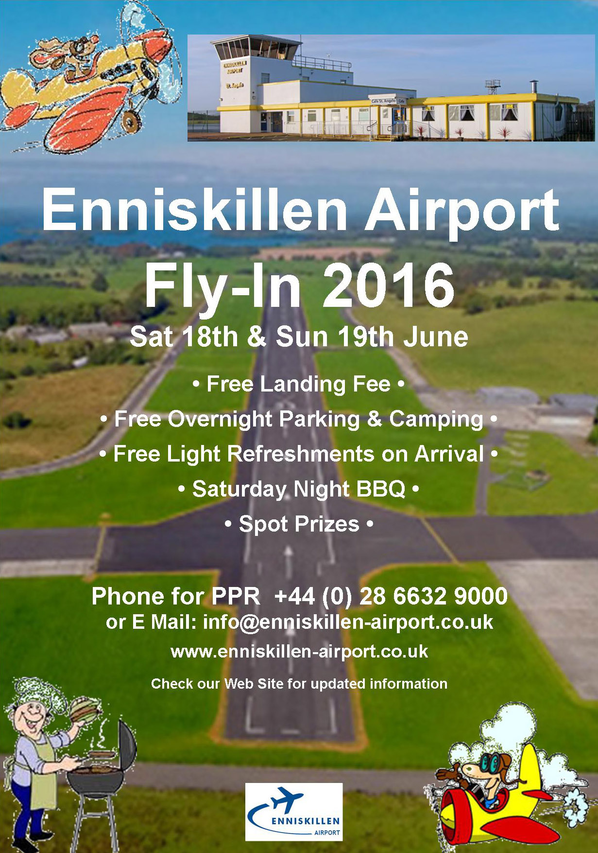 Enniskillen Fly In 2016 Poster