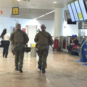 Brussels Airport security