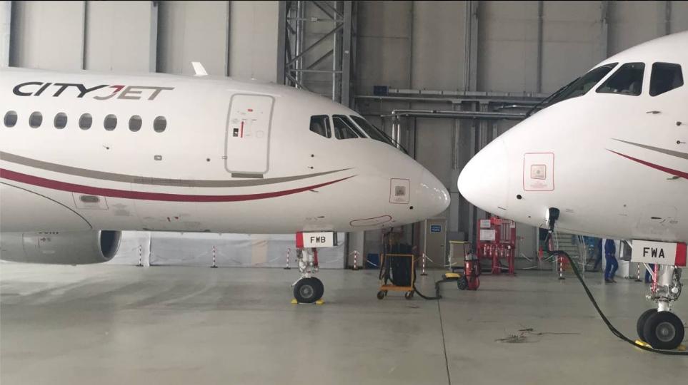 CityJet EI-FWA & B