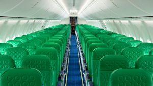 Transavia aircraft interior