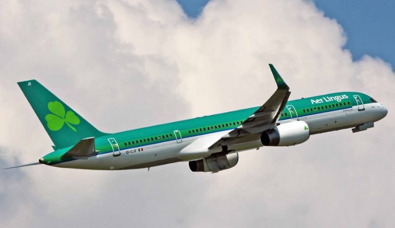 ASL Airlines B757 EI-CJX on lease to Aer Lingus (M. Nason)