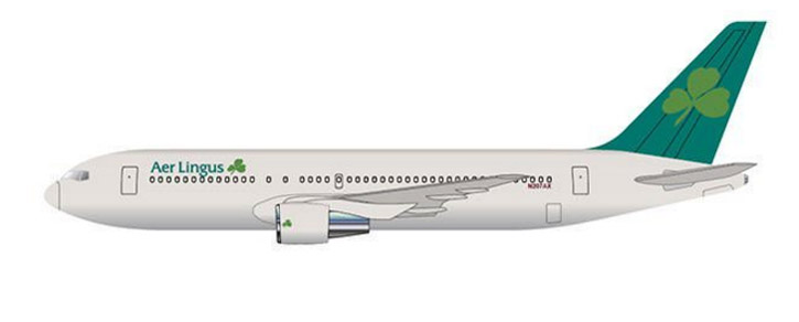 Aer Lingus 767 as it will appear on lease this year