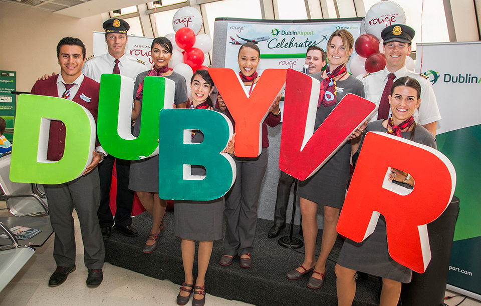 Air Canada rouge's new seasonal service to Vancouver launch