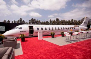 Bombardier Global 7000 mock up