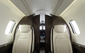 Bombardier Launches New Interior on Learjet 75