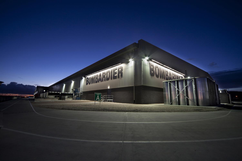 New Bombardier C-Series Building, Belfast, N.Ireland