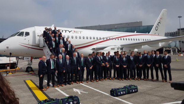 CityJets first carries Irish team to France