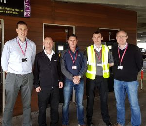 Cork car park project team