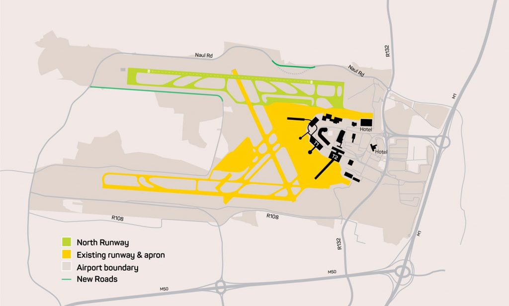 Dublin Airports new North runway (plan)