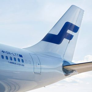 Finnair A330 tail
