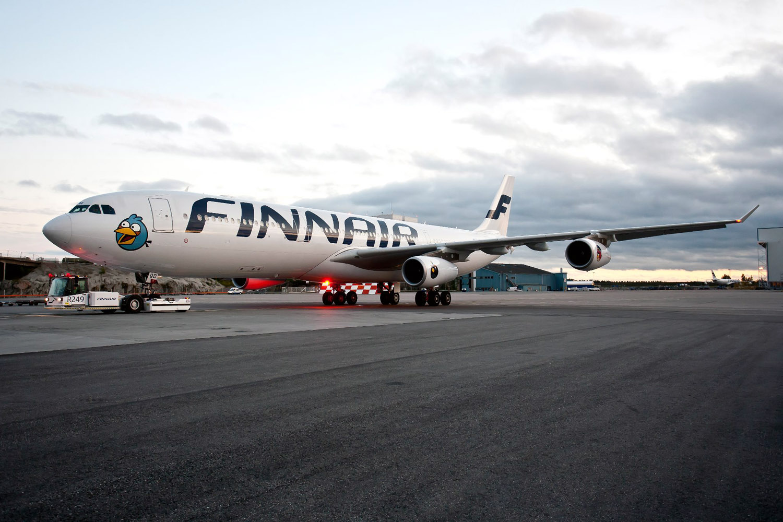 Finnair A340