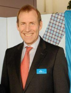 KLM's General Manager Warner Rootliep