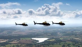 RAF training helicopters