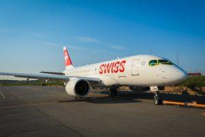 Swiss first C-Series HB-JBA