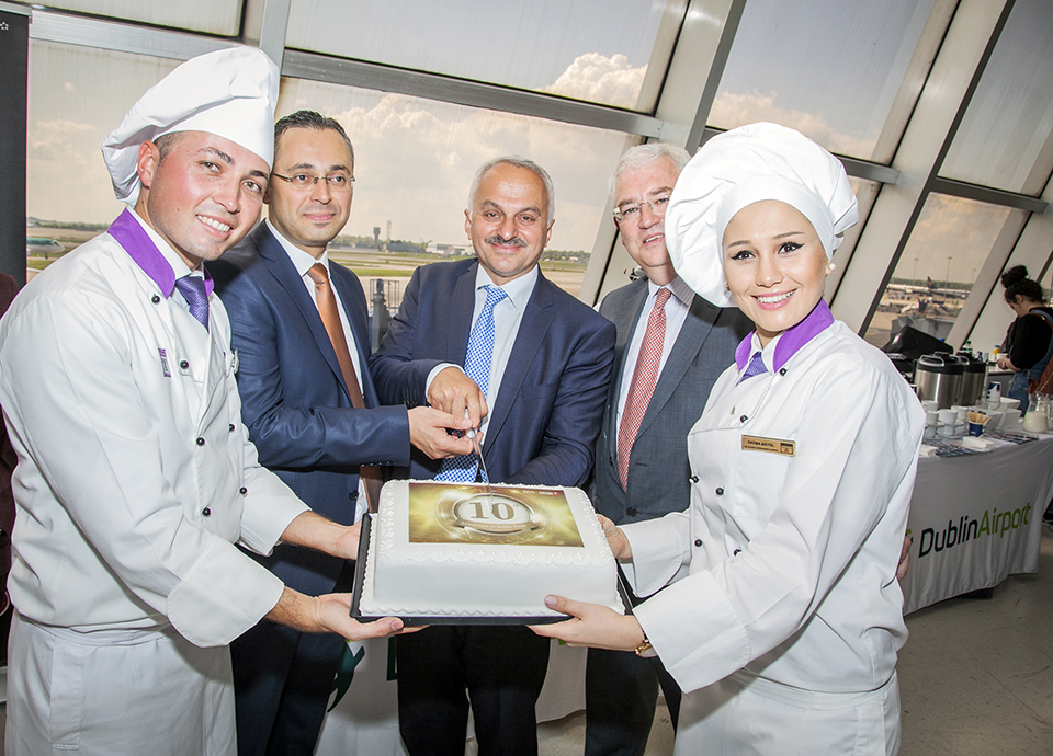 Turkish Airlines 10-years in Dublin
