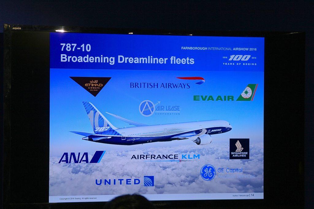 20160712 Farnborough Boeing 787-10 Orders 148 IMG_1003