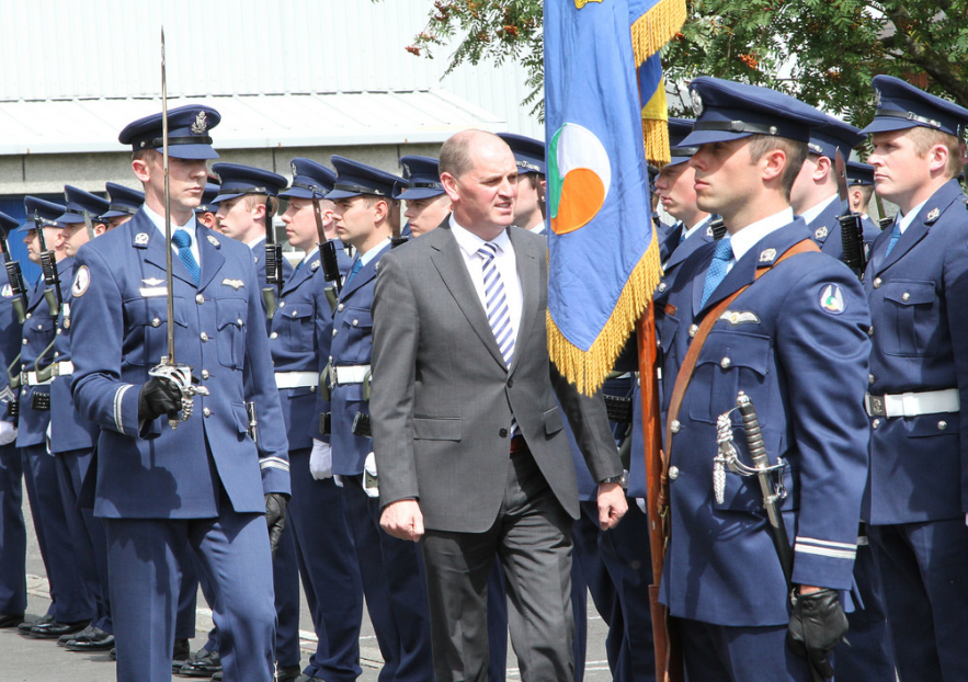 Air Corps 32nd Cadet Class guard of honour