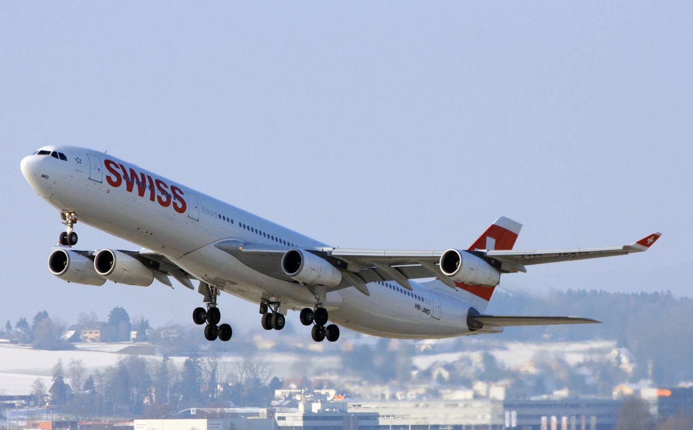 Airbus A340-313, HB-JMO Swiss (IMG7653 JL)