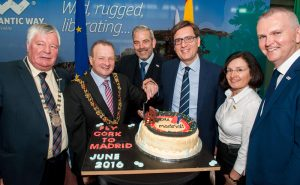 Cork launch of Madrid service