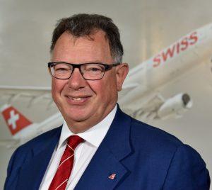 SWISS Chairman of the Board of Directors Reto Francioni